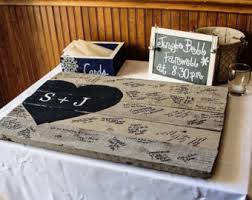 Diy Rustic Wedding Guest Book On Message In A Bottle