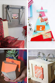 Creative DIYs For Giving Home Depot Gift Cards