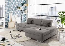 set one by musterring ecksofa so 4100 recamiere links oder rechts wahlweise mit bettfunktion