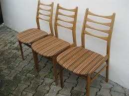 70er jahre design esszimmer stühle 3stck midcentury