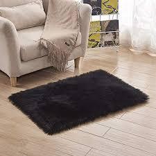 teppich faux pelz teppich bodendeckung schlafzimmer