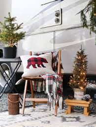 Cozy Cabin Inspired Christmas In The Camper