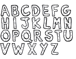 Download Alphabet Coloring Pages 2 Print
