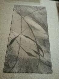 details zu teppich kibek design vintage 110 x 60 cm grau