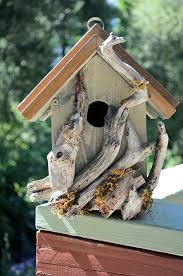 Image Of Rustic Birdhouses Picture