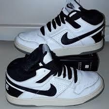 VINTAGE NIKE DELTA FORCE 3 4 Shoes 307723 101