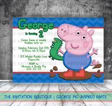 Peppa Pig George Pumpkin Stencil by George Pig Dinosaur Invitation Peppa Pig