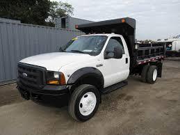 100 V10 Truck 2007 Ford F550 XL Single Axle Dump 68L 360HP Automatic
