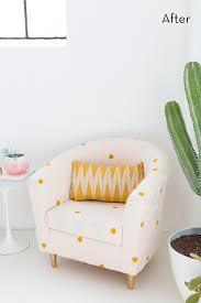 Ikea Tullsta Chair Slipcovers by Weekend Project Easy Ikea Hack Chair Makeover Curbly