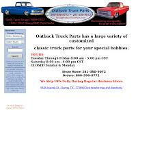 Outback Truck Parts Competitors, Revenue And Employees - Owler ... Pierce Auto Parts On Twitter Chevrolet Trucks Junkyard Custom Truck Parts Accsories Tufftruckpartscom Dfw Camper Corral Italeri 124 Australian Semi Cab Model Kit Ita719 Up Outback New 2018 Subaru Outback For Sale Near West Chester Pa Exton We Love Providing Used Auto To Denver Youtube 1314 Carpeted Floor Mats Black W Brown Trim Oem New