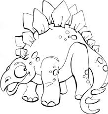 Dinosaur Coloring Pages On Ville