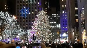 Christmas Tree Rockefeller 2017 by Rockefeller Center Christmas Tree Lighting 2017 Youtube
