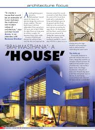 100 Houses Architecture Magazine Construction And