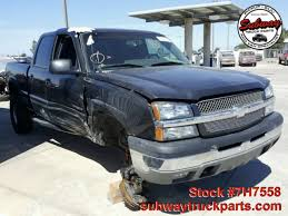 100 Chevy Silverado Truck Parts Used 2003 Chevrolet 1500 60L 4x4 Subway