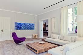 hightech wohnen in der villa modern wohnzimmer essen