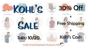 Kohls Sale -30% Off + Free Shipping + $10/$50 Kohls Cash ... Kohls 30 Off Coupon Code With Charge Card Plus Free New Years Sale October 2018 Store Deals For 10 Nov 2019 Pin On Picoupons Coupons Iphone Melbourne Accommodation Calamo Saving Is Virtue 16 Off On Average Using Coupons Codes Promo Maximum 50 Natasha Denona Sunset Palette Code From Allure Green Monday Cash Save Up To Of Your Entire Purchase Printable 40 Farmland Bacon Coupon Most Valued Customer Shipping No Minimum