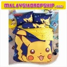Pikachu bed price harga in Malaysia lelong