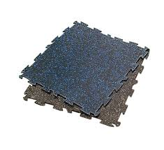 Hudson Soft Rubber Interlocking Floor Mat – 3 8″ Thick