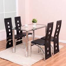 Dining Table Set 6 Seater Marble Top