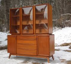 Broyhill Brasilia Magna Dresser by Vintage Mid Century Modern Heywood Wakefield Bubble Glass China