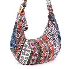 sanxiner women u0027s thai style cotton hippie hobo soulder handbags