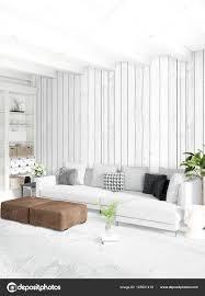 minimale vertikale schlafzimmer oder loft style interior