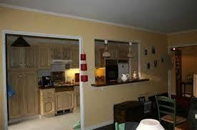 cuisine sur salon ouverture entre cuisine et salon ctpaz solutions à la maison 5