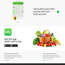 GoferEats UberEats Clone Script From Trioangle Alternatives And