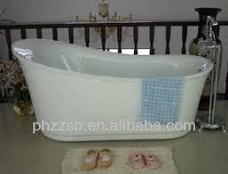 source besma portable freestanding custom size plastic bathtub for