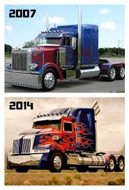 100 Optimus Prime Truck Model Evolution Of Movies Transformers Movie Stuff
