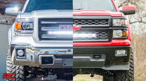 100 Light Bar For Trucks 20142018 GM 1500 Hidden 30inch Curved Cree LED Grille
