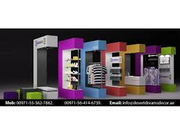 Creative Display Stand Uae