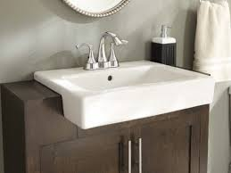 Trough Sink With Two Faucets by Bathrooms Design Best Long Bathroom Sink With Two Faucets