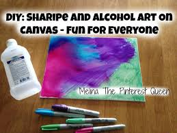 Decorating Fabric With Sharpies by Diy Sharpie And Alcohol Art On Canvas Fun For Everyone