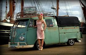 Amazing Vw bus Beautiful Pin up ♤ van classic old