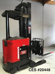 """CES #20448 Raymond EASI R35TT Reach Forklift 250"""" - Coronado ... Forklift Rentals From Carolina Handling Wikipedia Raymond Cporation Trusted Partners Bastian Solutions Turret Truck 9800 Swingreach Lift Heavy Loads Types Classifications Cerfications Western Materials Raymond Launches Next Generation Of Reachfork Trucks With Electric Pallet Jack Walkie Rider Malin Trucks Jacks Forklifts And Material Nj Clark Dealer Sales Used Duraquip Inc 60c30tt Narrow Aisle Stand Up"""