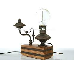 exposed bulb table l industrial desk light bare bulb l
