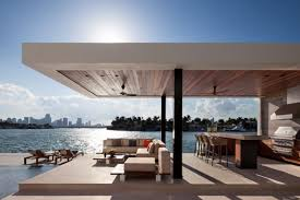100 Miami Modern Tropical Modern Beach Mansion Sells For 22M Curbed