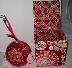 Vera Bradley Bedding Comforters by Collectible Vera Bradley Mediterranean White Christmas Ornament In
