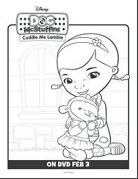Disney Junior Doc Mcstuffins Coloring Pages Pdf Magnificent Printable Book Games Full Size