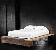 Rustic Platform Bed For Popular Of Best 25 Industrial Beds Ideas On Pinterest
