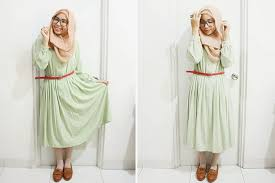 What Ladyulia Wore On Her Daily Hijab Style