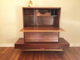 mid century modern secretary dania collection by american of