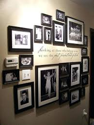 Wall Picture Display Ideas Family Photo