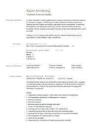 Sample Personal Resume Summary Statement Example Fashion