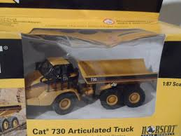 100 Articulated Truck Norscot Caterpillar 730 HO Cat Diecast 187 Scale