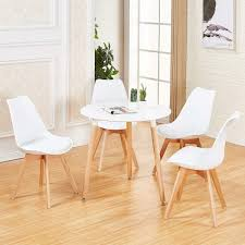 Details About Round Dining Table And 4 Dining Chairs Retro Solid Wood For  Small Kitchen White 10 Upholstered Ding Chairs Cabriole Legs Lloyd Flanders Round Back Wicker Chair Arenzville Mahogany Wood Pedestal Table With 6 Set Pre Order Aria Concrete Granite Ding Table 150cm 4 Jsen Leather Chair Package Small In White Velvet Pink Rhode Island Kaylee Bedford X Rustic 72 With 8 Miles Round Ding Suite Alice Chairs A334b 1pc And A304 4pcs Patrick Milner Modern Dinette 5 Pieces Wooden Support Fniture New Tyra Glass On Gloss Latte Nova Seater