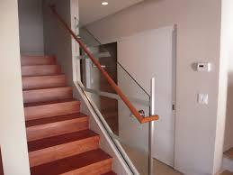 Glass Stair Railing Banister : Elegant Glass Stair Railing ... Modern Glass Stair Railing Design Interior Waplag Still In Process Frameless Staircase Balustrade Design To Lishaft Stainless Amazing Staircase Without Handrails Also White Tufted 33 Best Stairs Images On Pinterest And Unique Banister Railings Home By Larizza Popular Single Steel Handrail With Smart Best 25 Stair Railing Ideas Stairs 47 Ideas Staircases Wood Railings Rustic Acero Designed Villa In Madrid I N T E R O S P A C