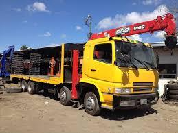 100 Surplus Trucks Original Japan 12W Self Loader Boom Truck Make