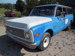 1972 Chevy Suburban C10 3 door With Barn Doors 72 Used Chevrolet